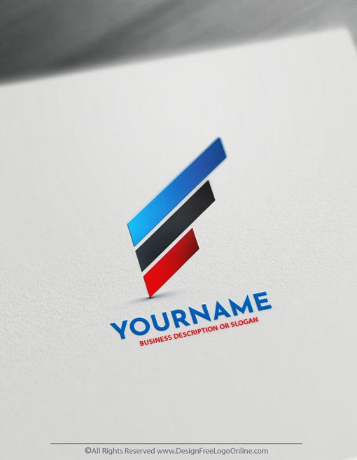 Create a Company Logo Free - Simple Lines Logo Templates