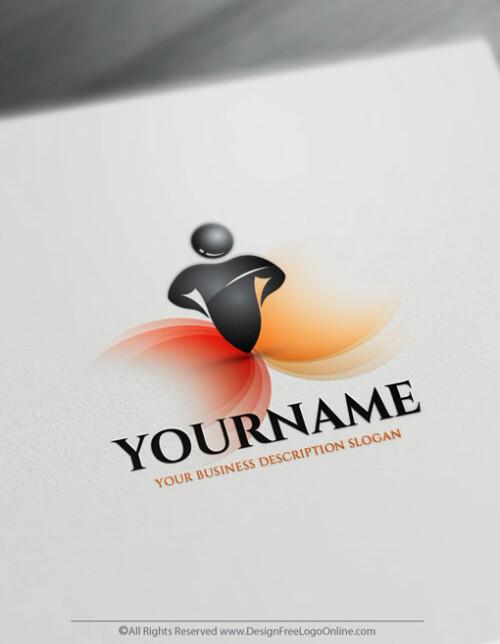Create a Logo Free - Strong Human Logo Templates