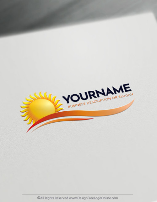 Free Sun Logo Maker - Create your own landscape logo designs