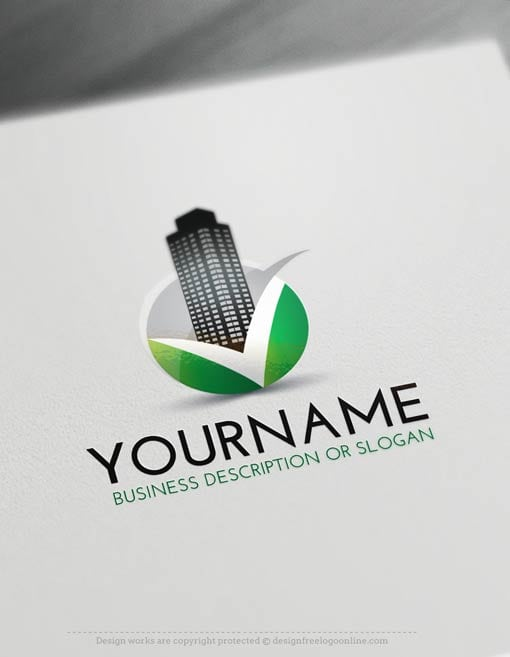 Free-Logo-Make-Real-Estate-V-LogoTemplate