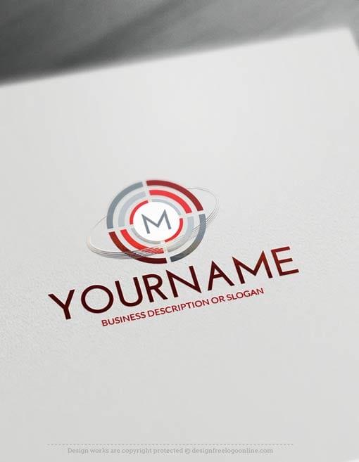 Free-Logo-Maker-Initials-Target-LogoTemplate