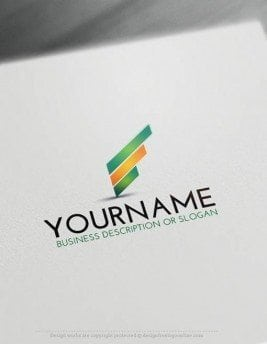 Free-Logo-Maker-Lines-LogoTemplate