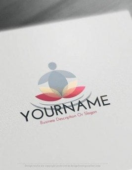 Free-Logo-Maker-Yoga-LogoTemplate