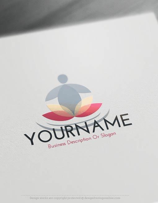 Free-Logo-Maker-Yoga-LogoTemplate