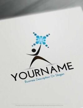 Free-Logo-Maker-man-sun-LogoTemplate - עותק