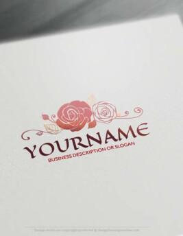 Free-Logo-Maker-rose-LogoTemplate