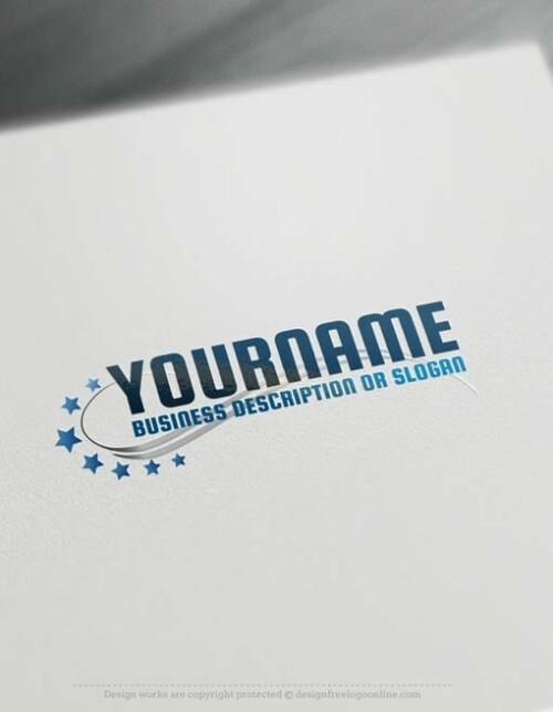 Free-Logo-Maker-stars-LogoTemplate