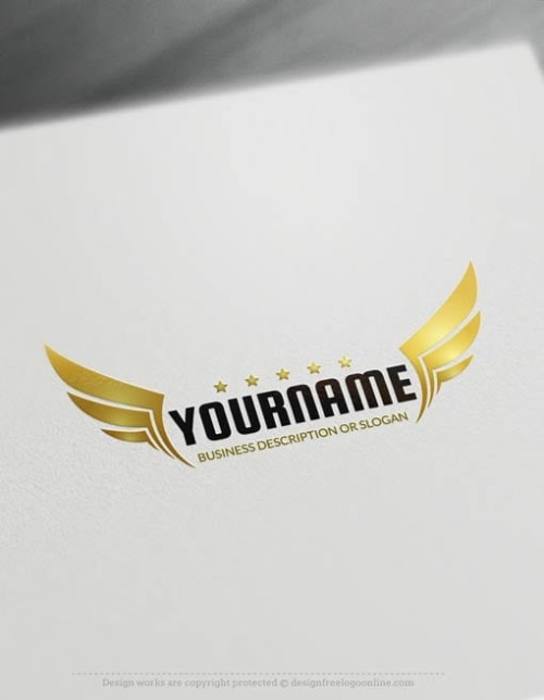 Free-Logo-Maker-wings-LogoTemplate