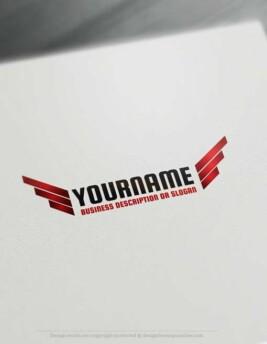 004534-Free-Logo-Maker-wings-LogoTemplate