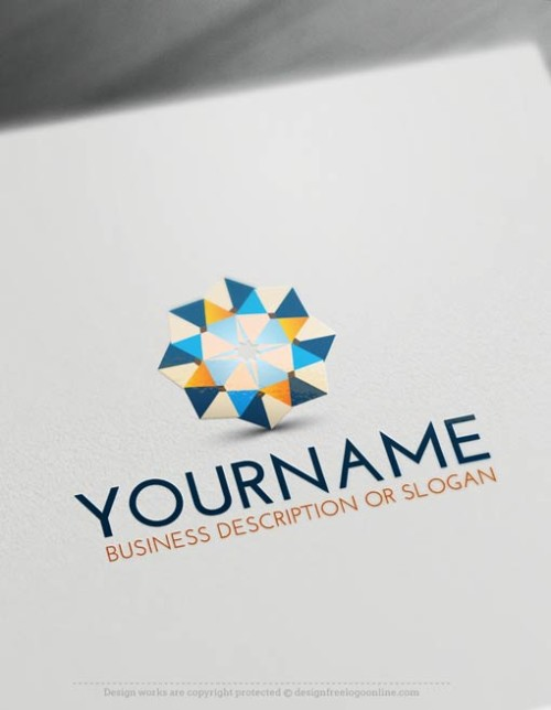 Free-LogoMaker-Geometric-LogoTemplate