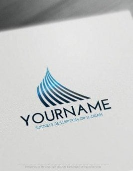 Free-LogoMaker-Lines-LogoTemplate