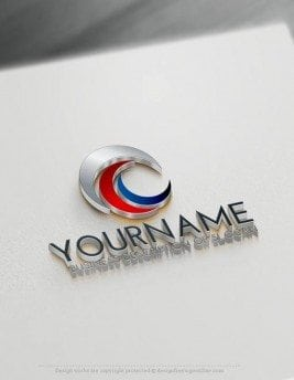 Free-LogoMaker-Moon-LogoTemplate