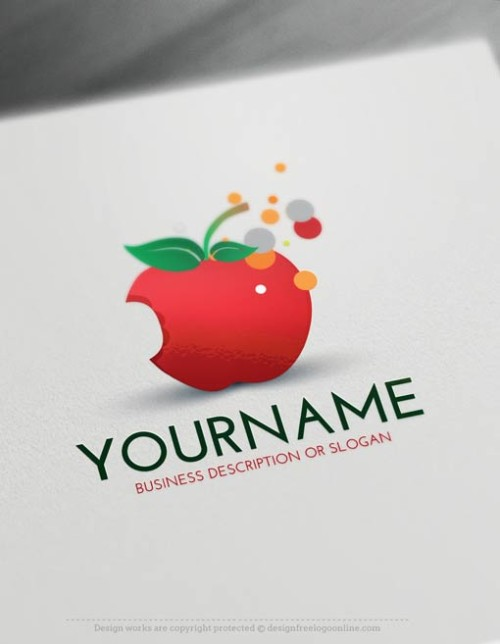 Free-LogoMaker-apple-LogoTemplate