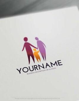 Free-LogoMaker-family-LogoTemplates