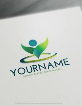 Free-LogoMaker-man-grow-LogoTemplate