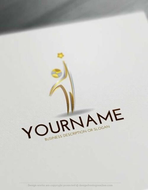 Free-LogoMaker-man-star-LogoTemplate