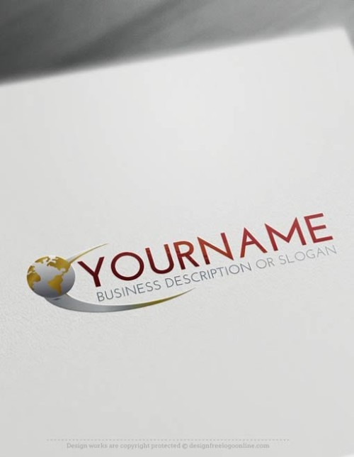 Design online Logo with our free logo maker tool - Abstract Star Path Logo Template