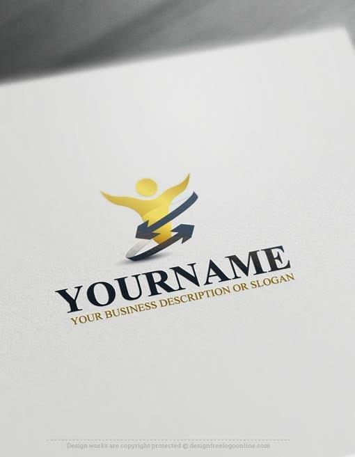 Free-LogoMaker-power-human-LogoTemplates