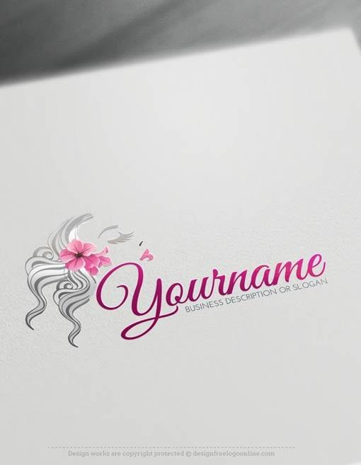 Free-LogoMaker-woman-face-LogoTemplate