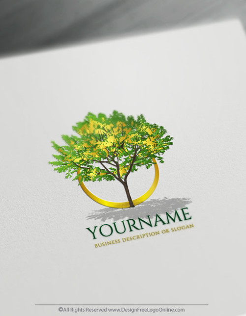 use our Logo Creator for free to create tree logo ideas.