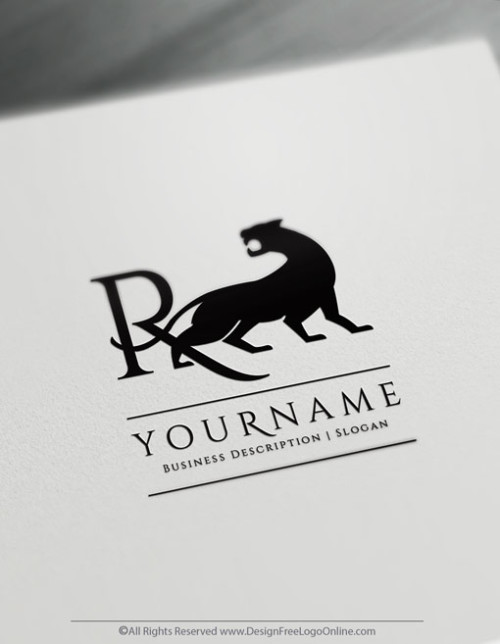 Jaguar Panther Tiger Logo Design Ideas - Free Logo Maker