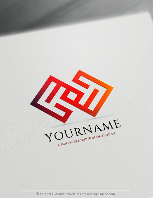 Create a Res Business Logo Free - Maze Logo Templates