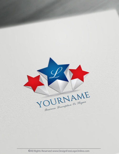 Create a Star image For Free with the 3D Logo Maker