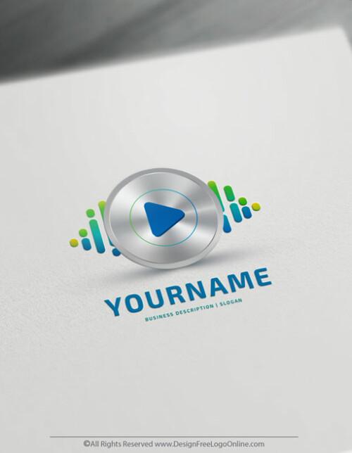 Cool DJ logo maker