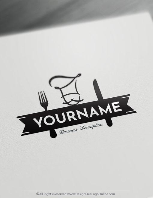 Luxury Chef Logo Design Online Free Food Logo Maker