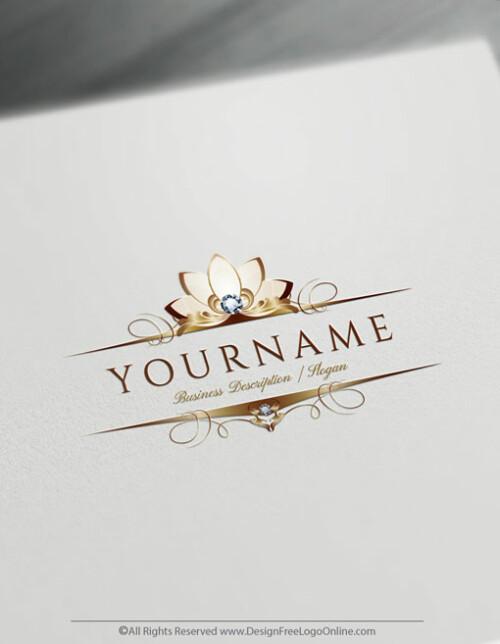 download your Diamond Flower Logo branding