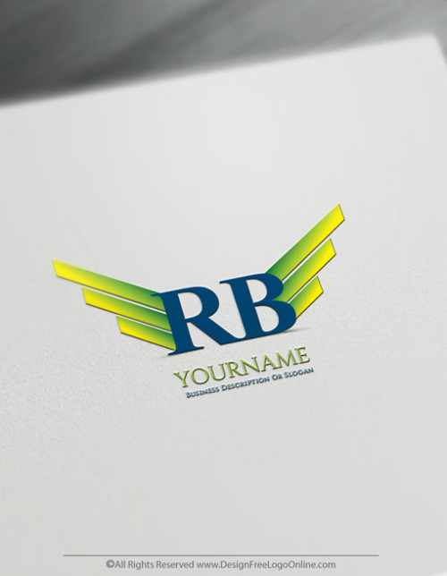 Create a Logo For Free - Design your own Wings Logo Template
