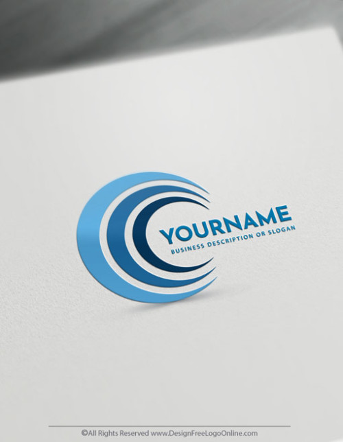 Easily create unique spiral logo ideas without registration.
