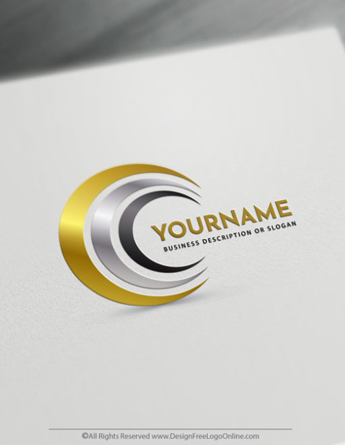 Be your own designer for free! Easily create unique design spiral logo ideas without registration. Download your moon logo now.