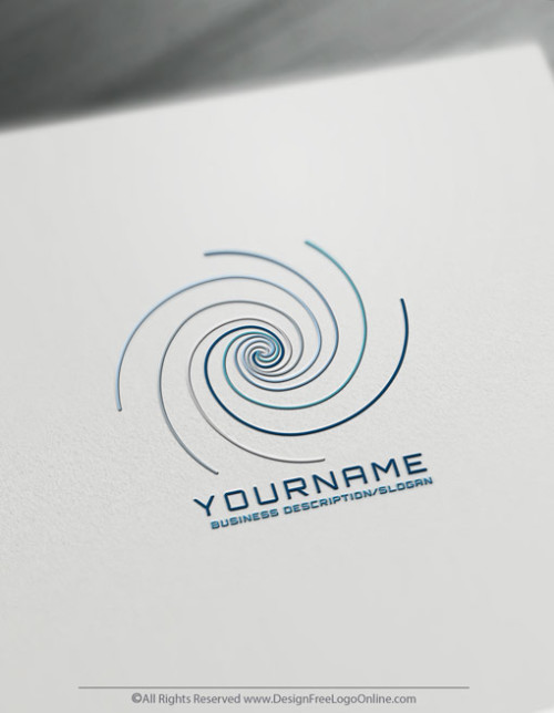 Free Golden Ratio Logo Maker - Spiral Logo Design Template