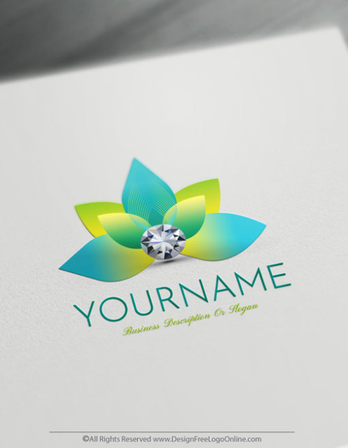 Create Blue Lotus logo ideas instantly