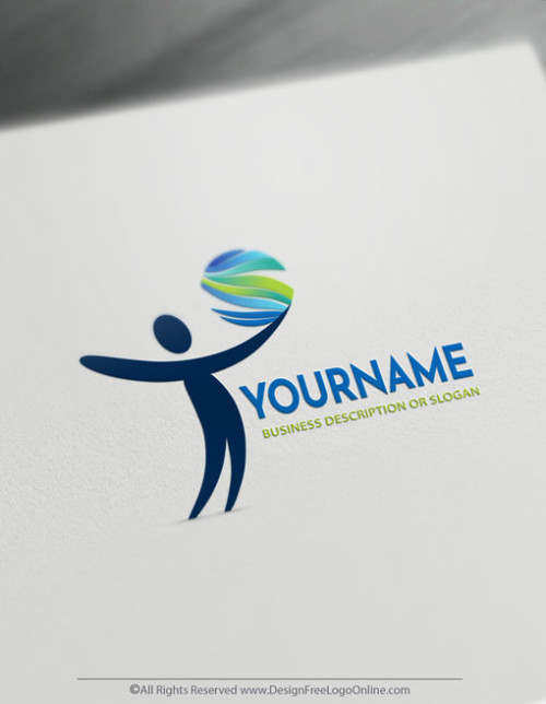 Online logo making. Use our logo maker to design your own human logo free