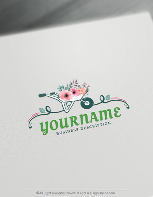 create a Landscaping Logo with the free Logo Maker. Download your Gardening logo today