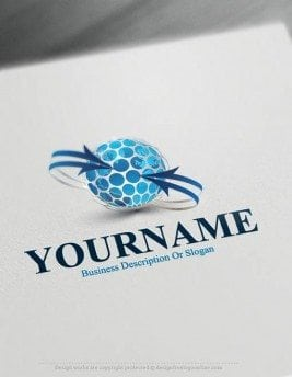 000507-3d-globe-arrow-logo-design-free-logomaker