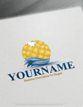 000509-globe-Puzzle-logo-design-free-logomaker
