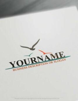 00469-Free-Logo-Maker-Seagulls-LogoTemplates