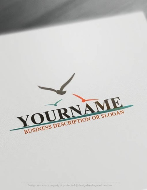 Create your own Seagulls Logo with the online logo maker