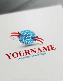 3d-globe-arrow-logo-design-free-logomaker