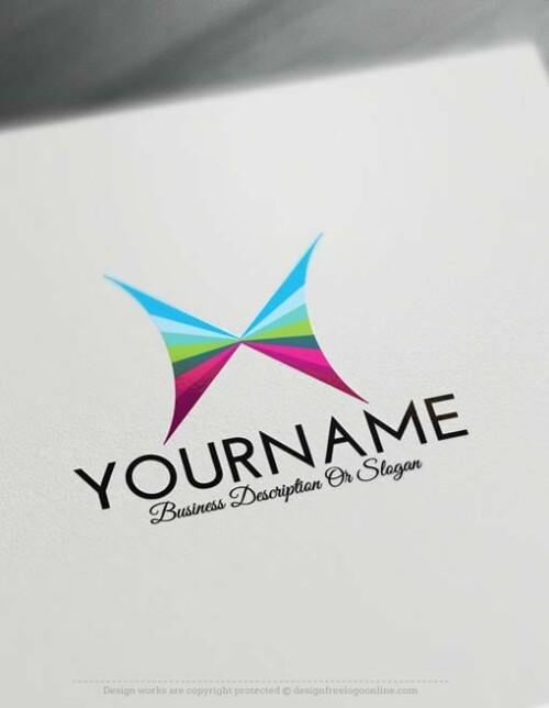 Butterfly-logo-free-logomaker