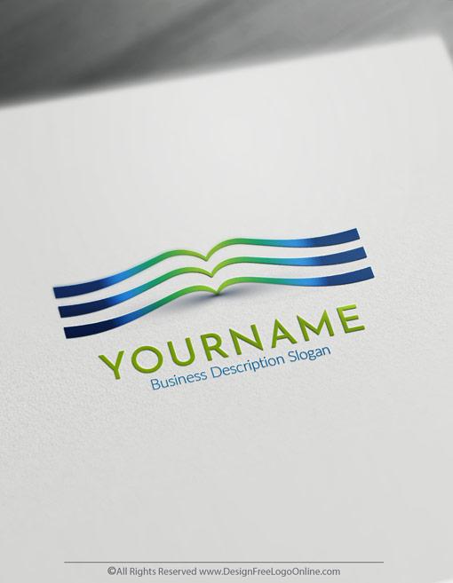 Free Education Logo Maker Book