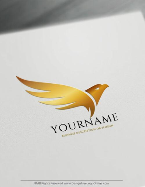 Gold Eagle Logos design