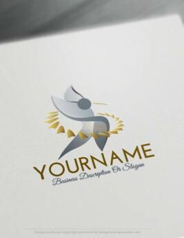Free-Logo-Maker-Abstract-man-LogoTemplates