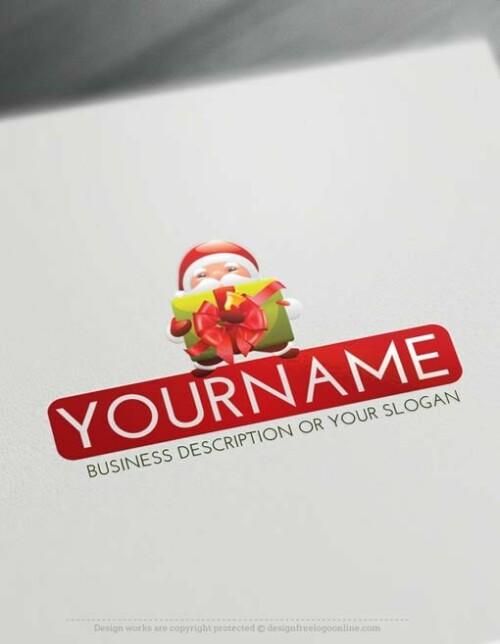Free-Logo-Maker-Christmas-Santa-Logo-Template-copy