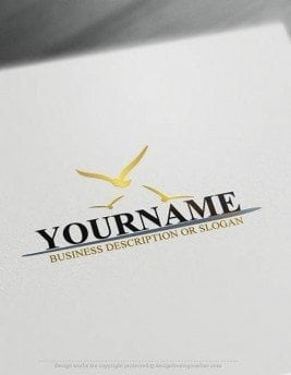 Free-Logo-Maker-Seagulls-LogoTemplates