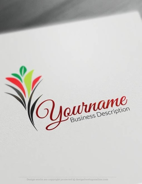 Free-Logo-Maker-flower-grow-Logo-TemplateFree-Logo-Maker-flower-grow-Logo-Template