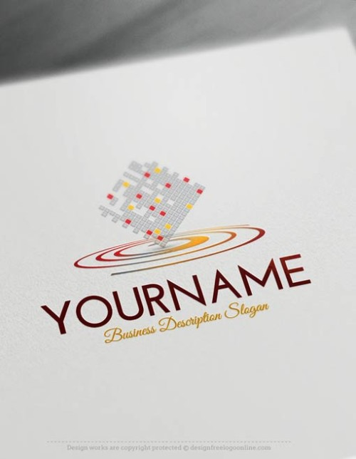 Free-Logo-digital-Logo-Template